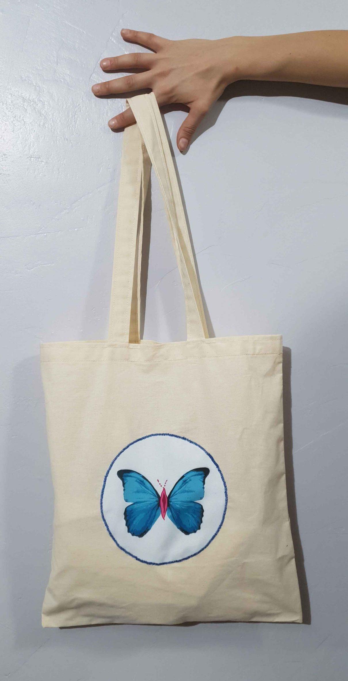Tote Bag Mariposa Pussy